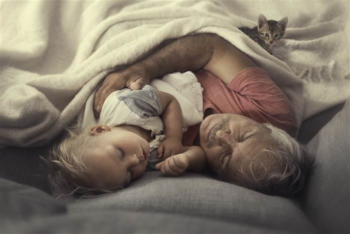 pictures of grandparents love