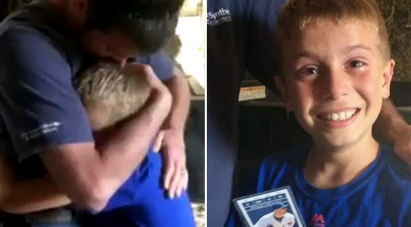cubs fan Kolt video surprises tickets