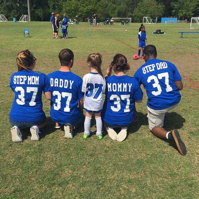 little girl support team soccer jerseys