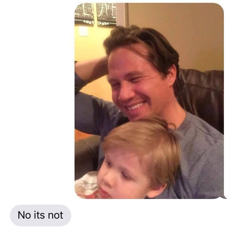 dad pranks mom kid shaved head funny