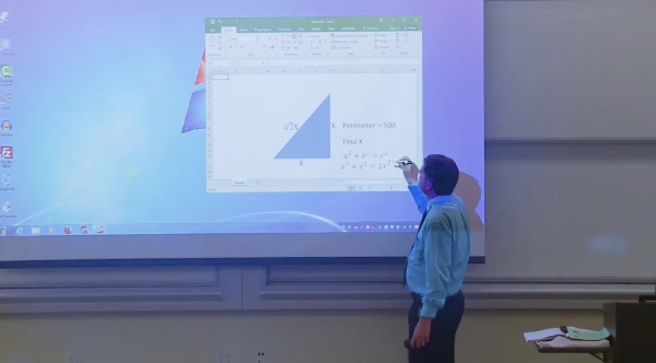 Math Teacher Impresses Students With Genius April Fools Prank