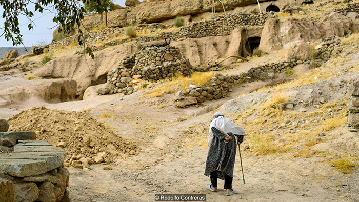 10000 year old hobbit village in Maymand Iran