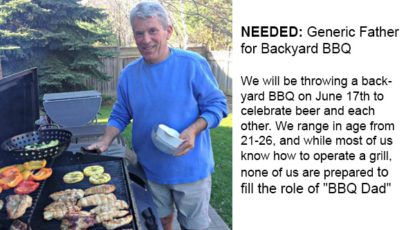 Read This Hilarious Craigslist Ad Looking For A 'BBQ Dad'