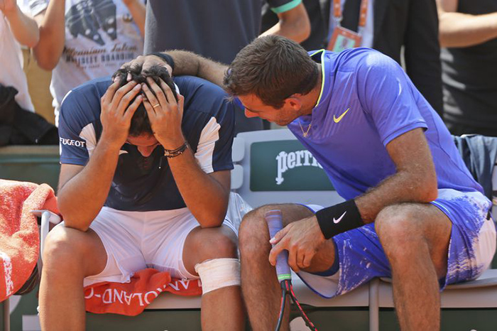 beautiful moment at French Open compassion