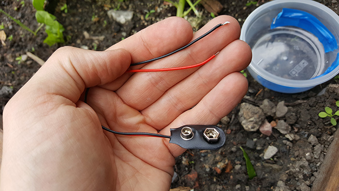 slug electric fence DIY