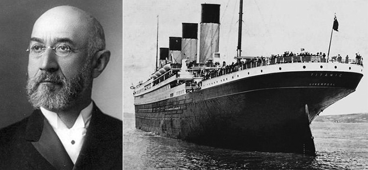 owner of Macys died on Titanic love story