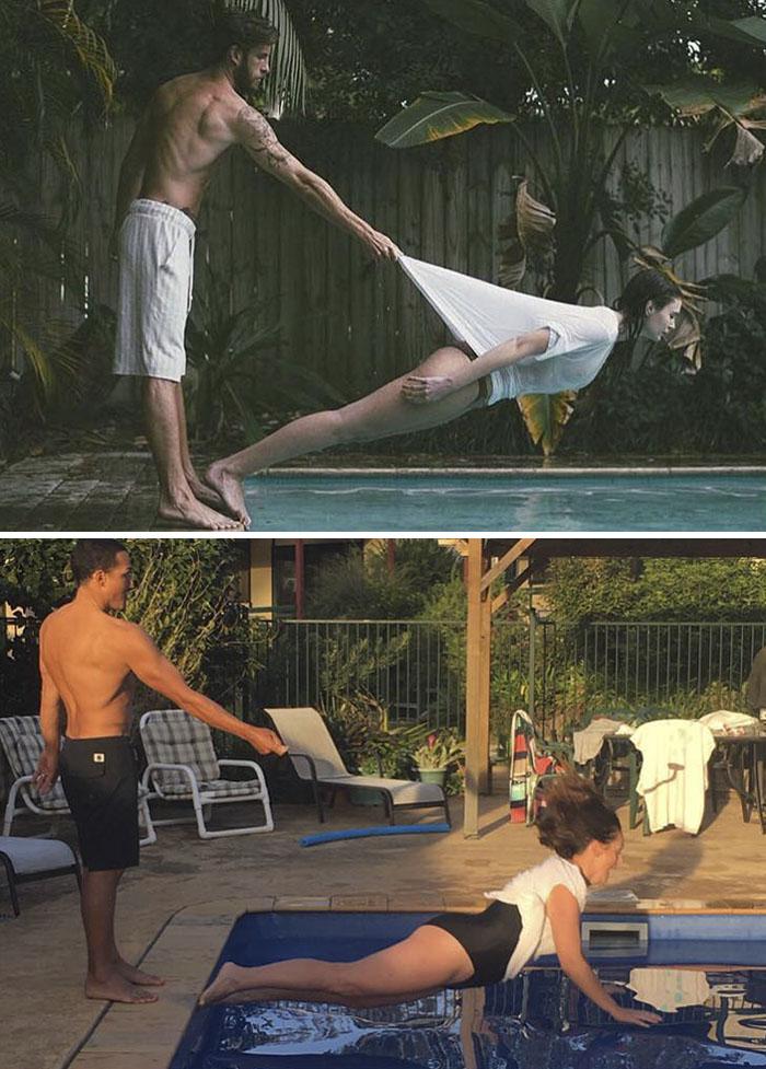 woman recreates celebrity instagram funny celeste