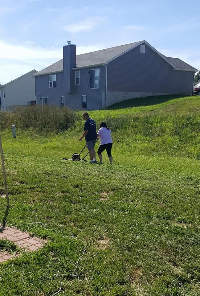 wife mow grass for husband story