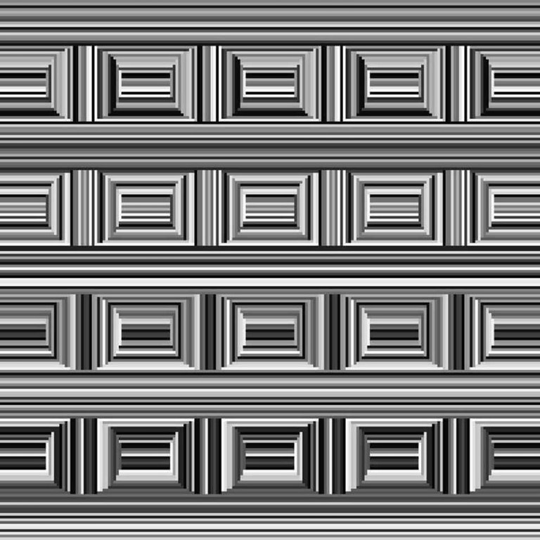 esuaj-circle-in-boxes-illusion-1 - OPTICAL ILLUSIONS GALLERY - Facts and Trivia