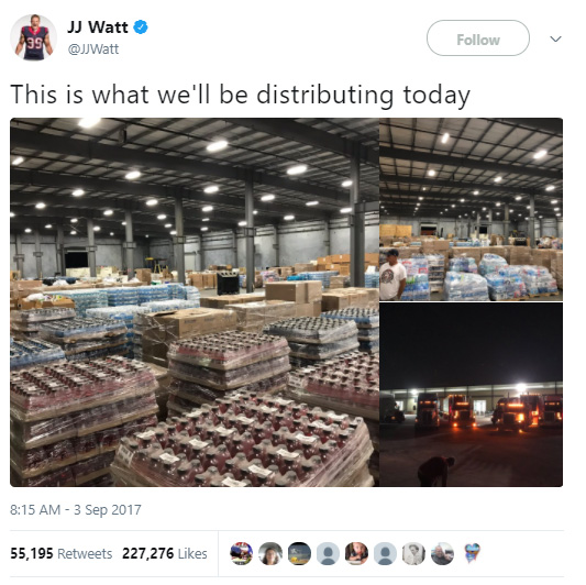 Watt raised 37 million for Houston