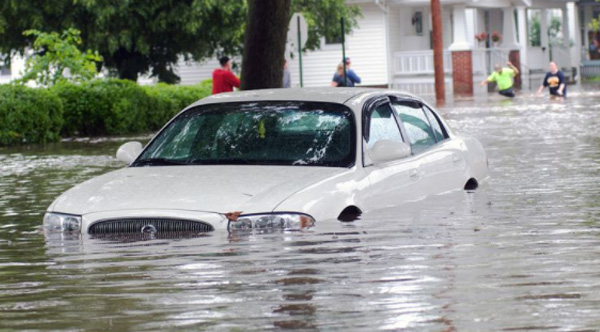 THIS Is How You Save A Flooded Car. DO NOT Try To Start It!