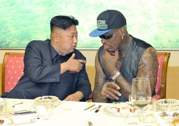 rodman to save US from nuclear war with kim North Korea
