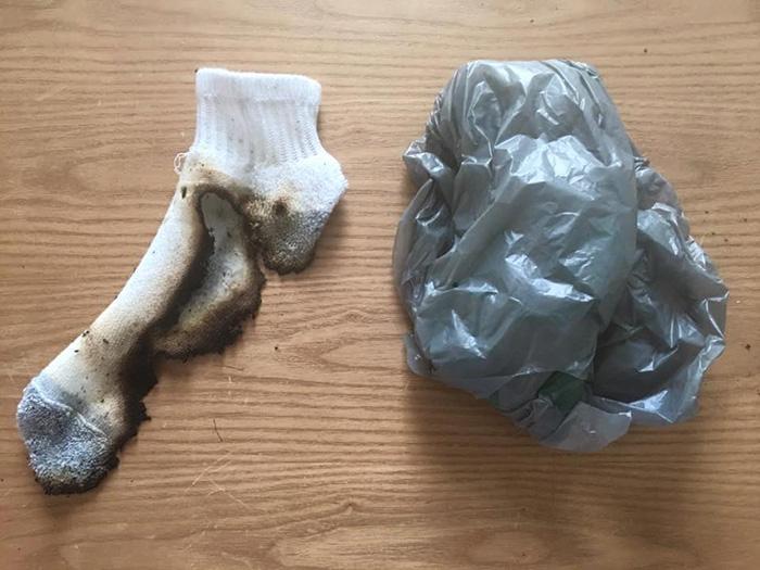 mom recounts crazy morning burnt sock dead squirrel