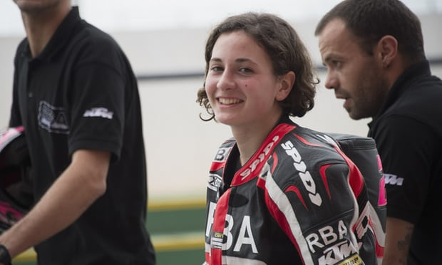 woman first motorcycle champion