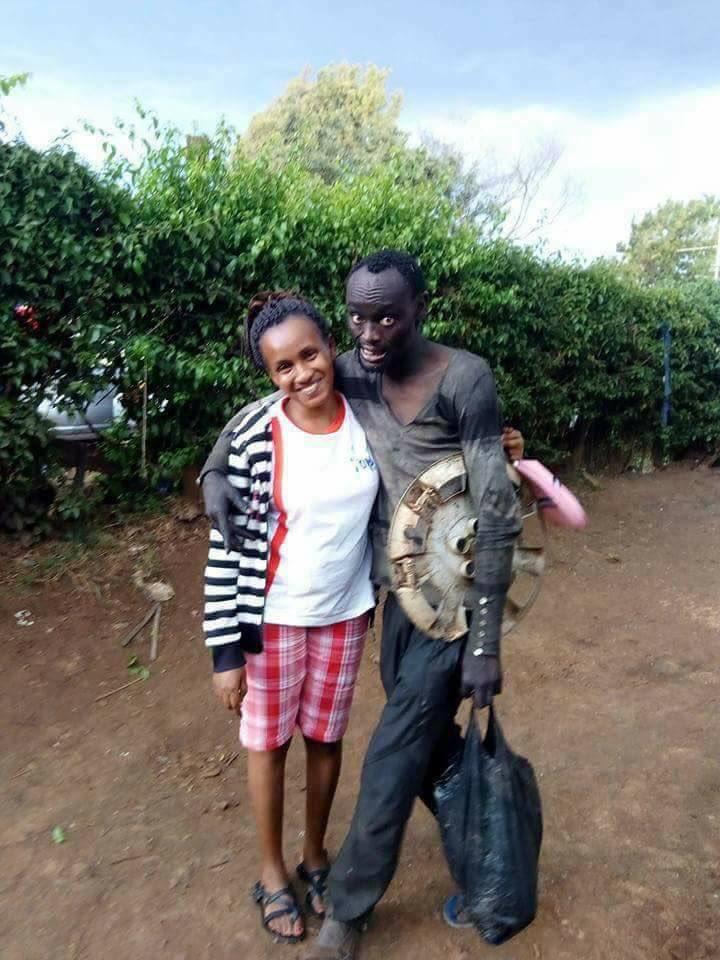 woman saves childhood friend drug addict gone mad