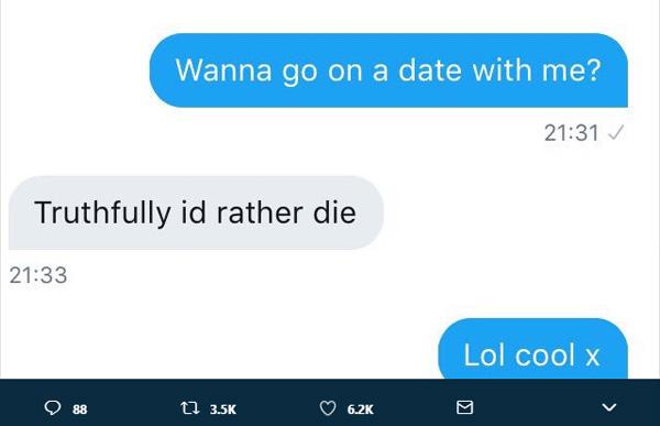 women ask men on dates on twitter funny responses