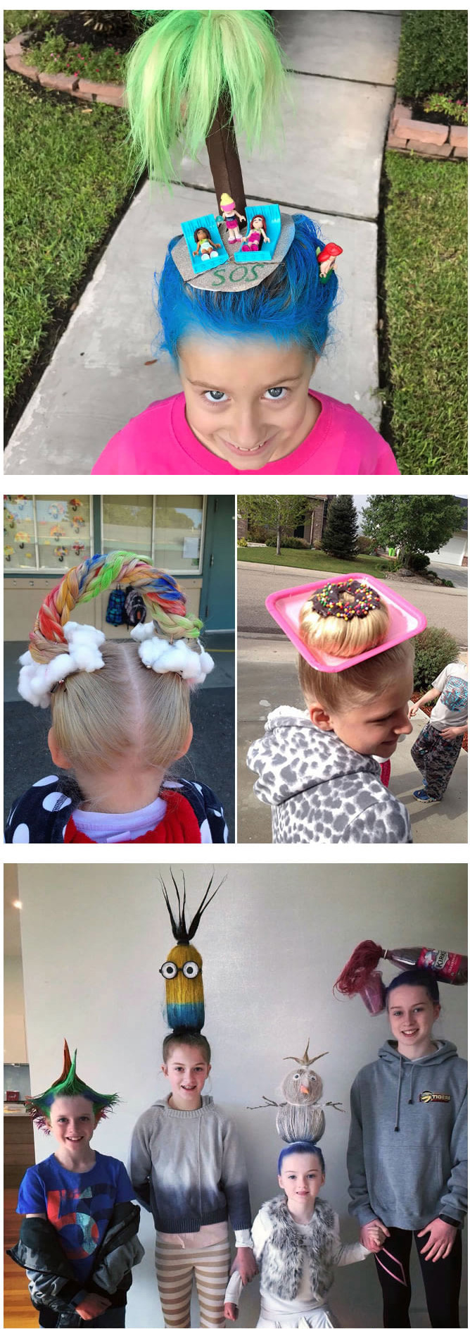 best crazy hair day ideas