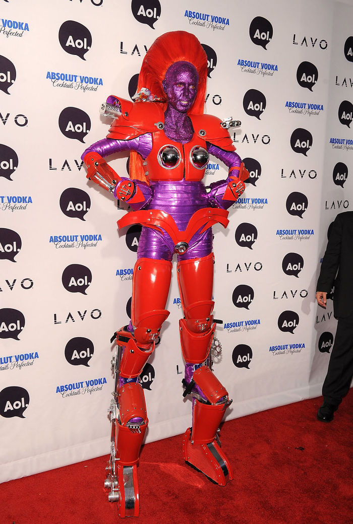 Heidi Klum good at Halloween costumes