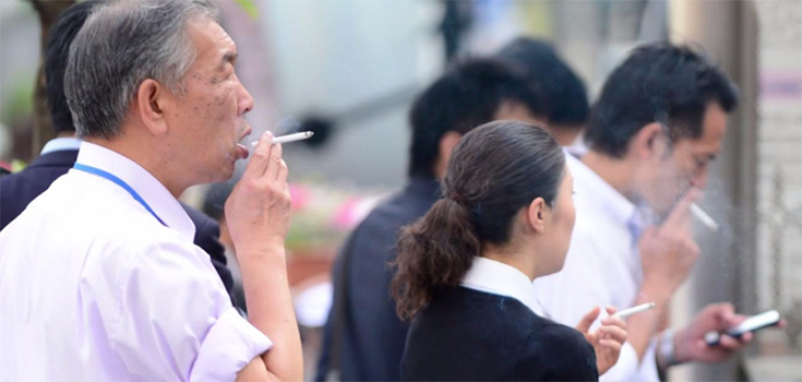 Japanese company gives non smokers extra vacation days