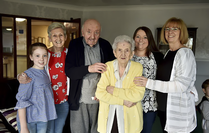 mom moves into care home for 80 year old son