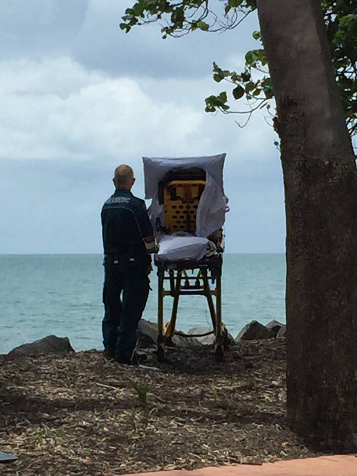 ambulance stops to let dying woman see beach