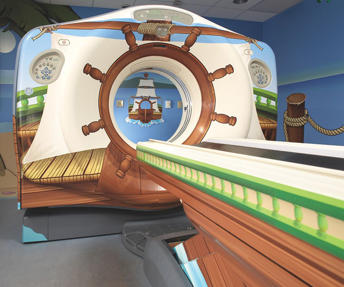 GE adventure series MRI