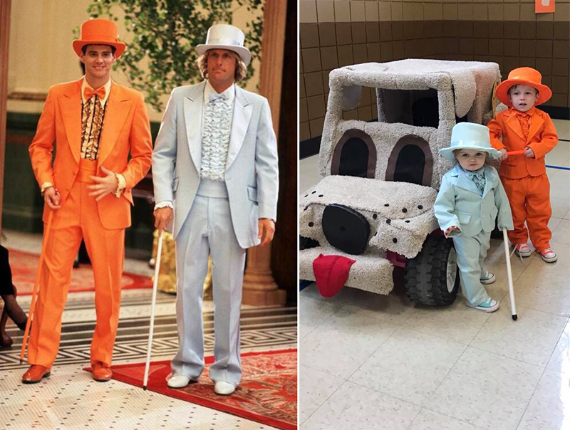 toddlers dumb and dumber tuxedos van