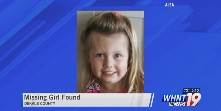 good news man finds missing girl