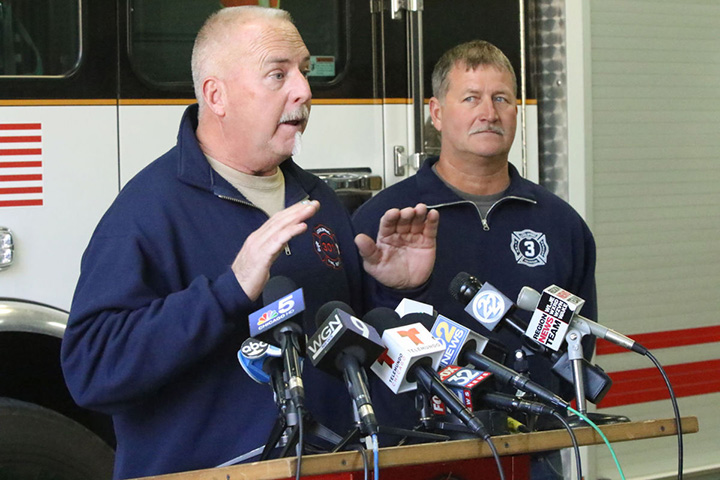 firefighters find abandoned baby good news