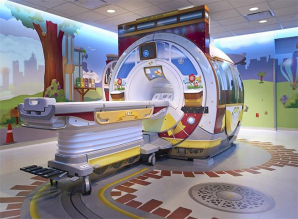 MRI scanners designed adventures for kids good news
