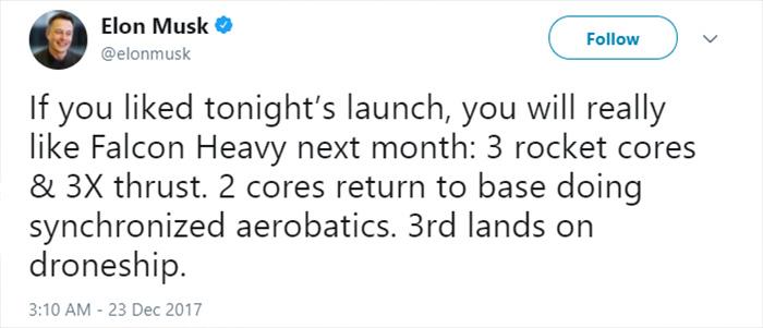 UFO in LA spaceX rocket