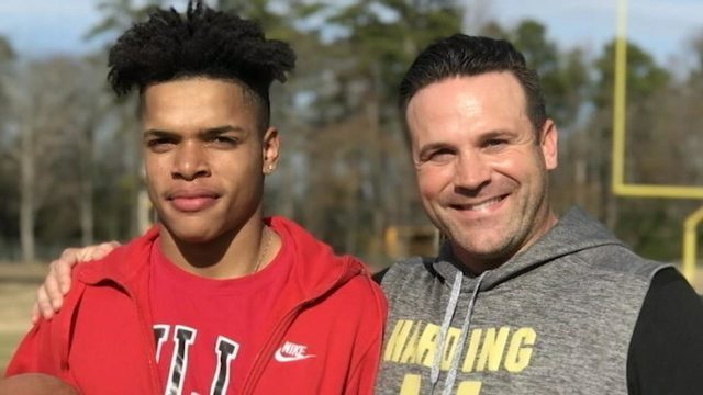 homeless qb bond with coach heartwarming story