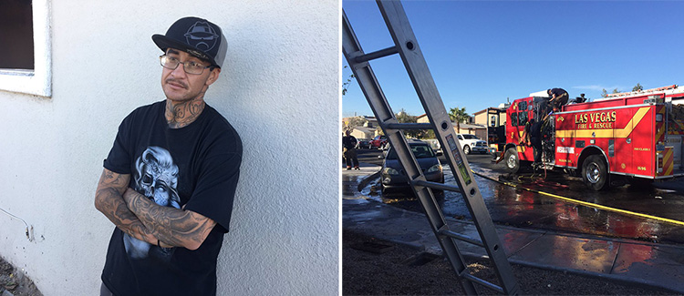 homeless man saves 2 kids from apartment fire