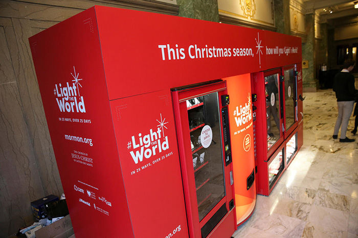 charity vending machines