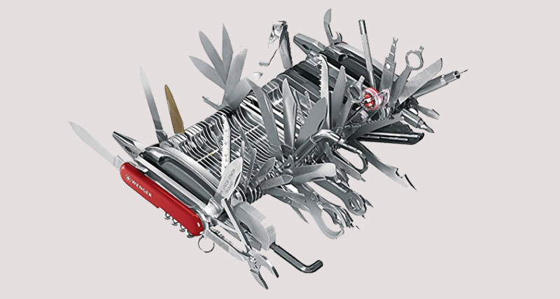 The Reviews On This 1500 Giant Swiss Army Knife Are Hilarious