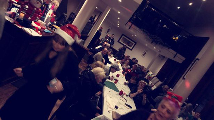 single mom invites 60 people to dinner Christmas