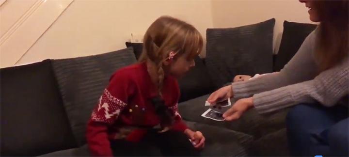 mom tells disabled daughter good news big sister