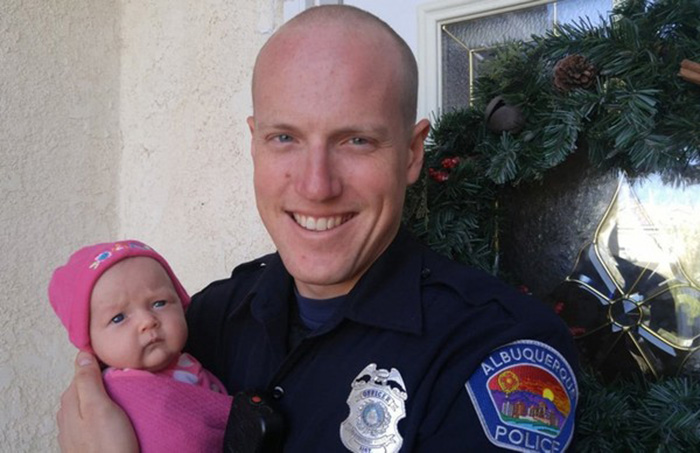 police officer adopts baby from homeless heroin addicts