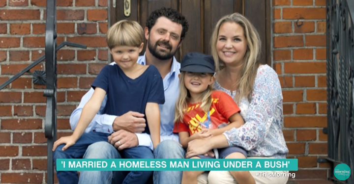 woman falls in love with homeless man