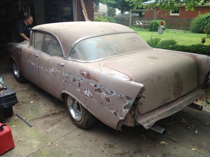 grandson restores grandfathers old car