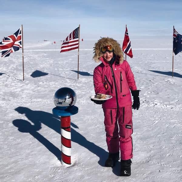 Jade Hameister explorer sandwich