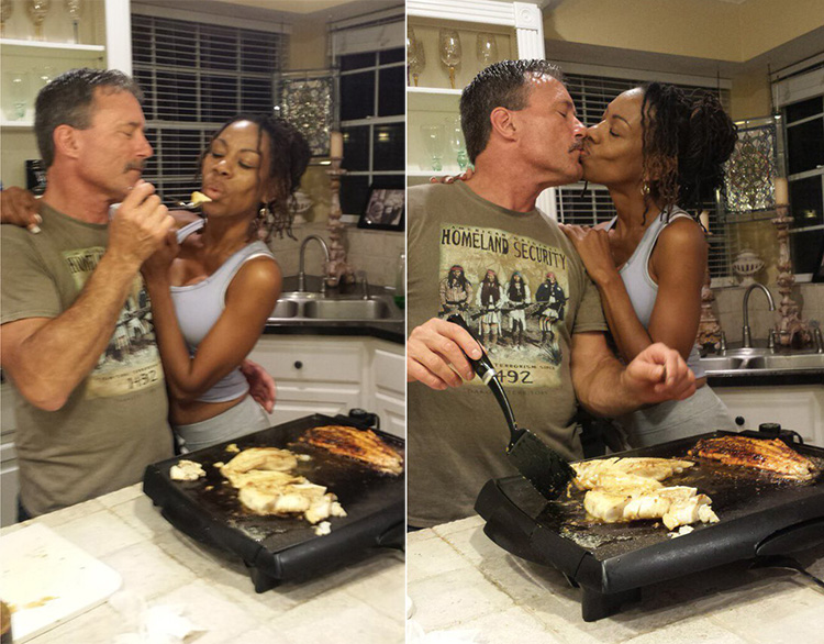 wife cuts dreads off after 20 years surprises husband