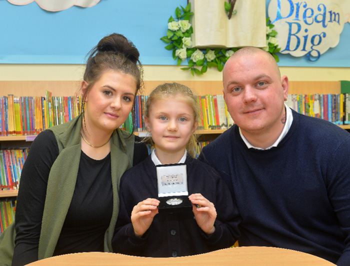 girl saves dads life good news