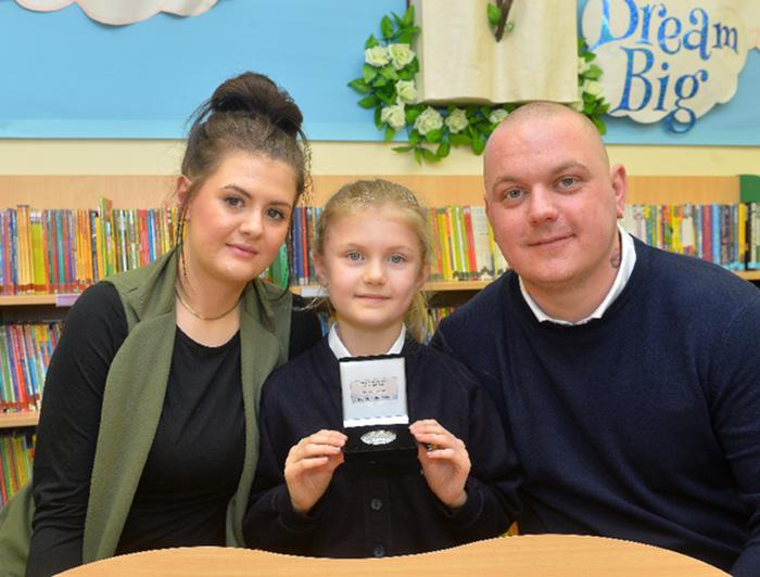 girl saves dads life good news