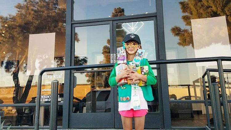 girl scout marijuana shop good news
