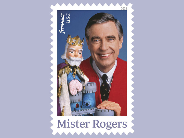 mr rogers stamp