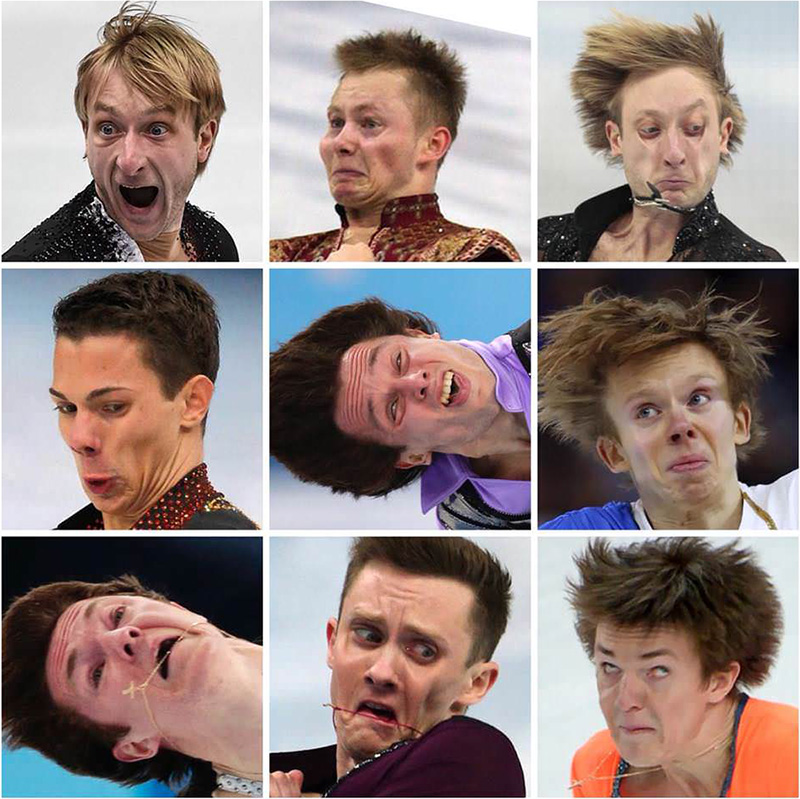funny Olympic athletes faces HD