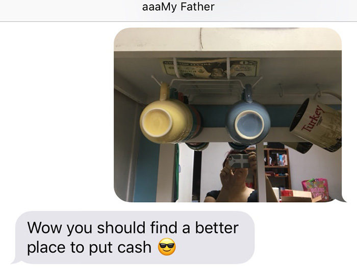 sneaky dad hides money in daughters house 20