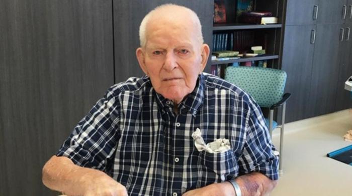 108 year old man advice good wife