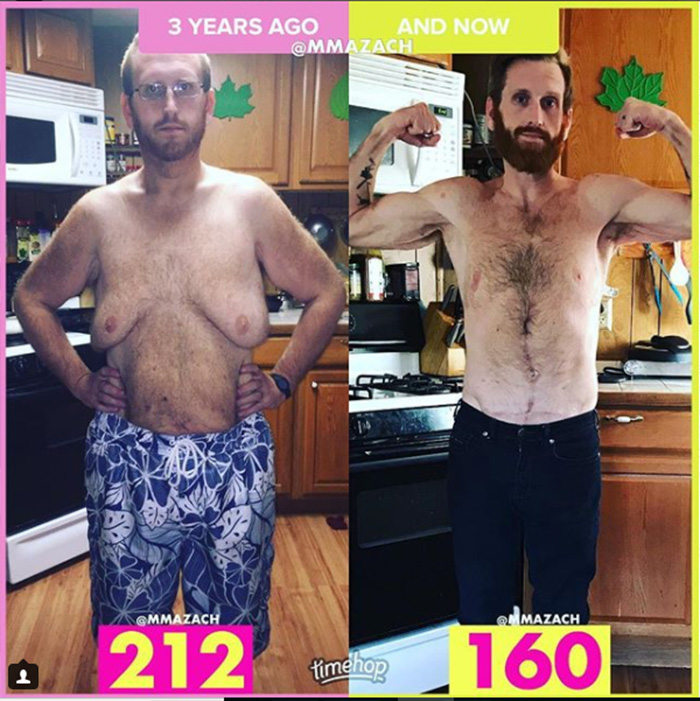 dad loses 300 pounds in under 2 years